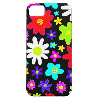 Colourful Flowers Case For The iPhone 5