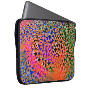 Colourful flowers Laptop Sleeve
