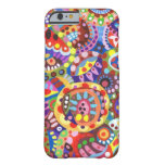 Colourful Funky Art iPhone 6 case Barely There iPhone 6 Case