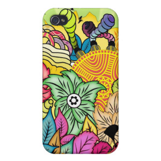 Colourful Garden Covers For iPhone 4