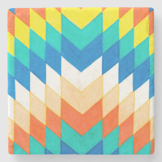 Colourful Geometric Coasters