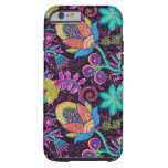 Colourful Glass Beads Look Retro Floral Design Tough iPhone 6 Case