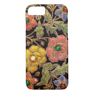 Colourful Glass Beads Vintage Floral Design iPhone 8/7 Case