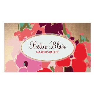 Browse the Makeup Artist Business Cards Collection and personalise by colour, design or style.