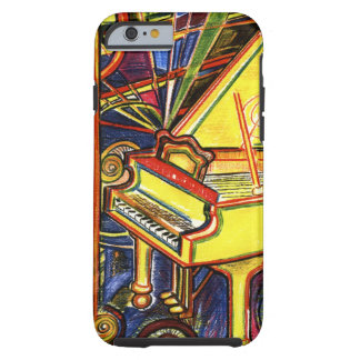 Colourful Grand Piano Tough iPhone 6 Case