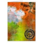 Colourful Grunge (orange)