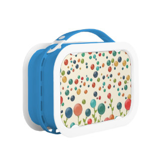 Colourful Gumdrops Girl's Lunch Box