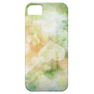 Colourful Heart Background iPhone 5 Covers