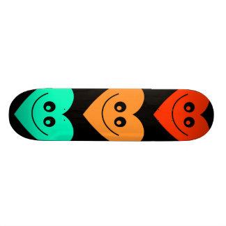 Colourful Heart Skateboard Decks