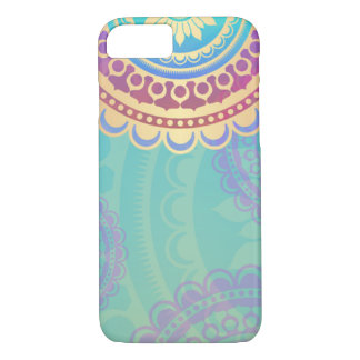 Colourful Hindu Art Pattern iPhone 7 Case