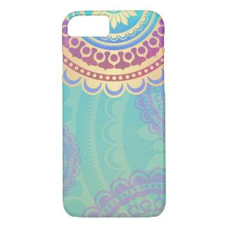 Colourful Hindu Art Pattern iPhone 8/7 Case
