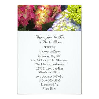 Colourful Hydrangea Invitations