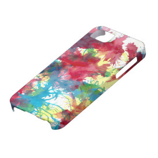 Colourful iphone case Paint Splatter iPhone 5 Case