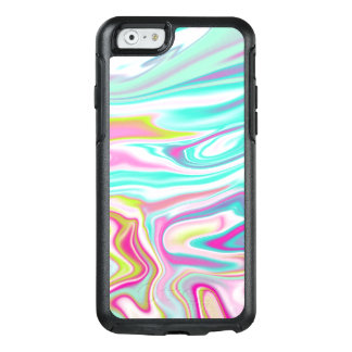 Colourful Iridescent Marble Design OtterBox iPhone 6/6s Case