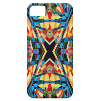 Colourful kaleidoscope circus background barely there iPhone 5 case