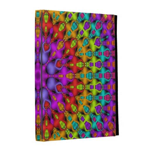 Colourful Kaleidoscope Pattterns iPad Case