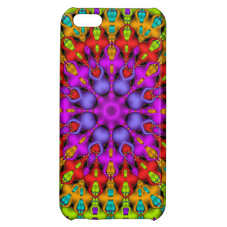 Colourful Kaleidoscope Pattterns Cover For iPhone 5C