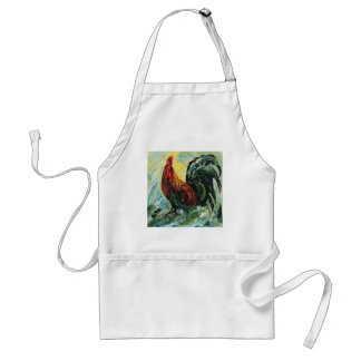 Colourful Keith the RoosterRooster Standard Apron