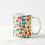 Colourful Kids Robot Basic White Mug