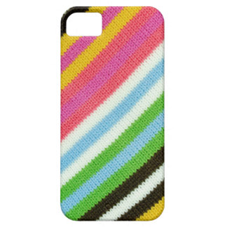 Colourful knitted background case for iPhone 5/5S