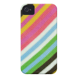 Colourful knitted background iPhone 4 cases