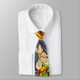 Colourful Leafs Tie