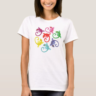 Colourful Lizards T-Shirt