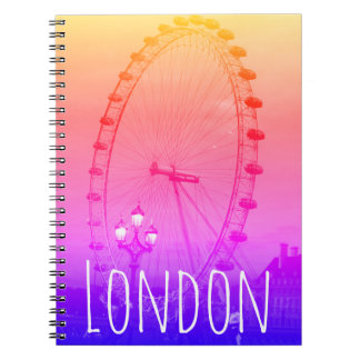 Colourful London, Notebook with London Eye