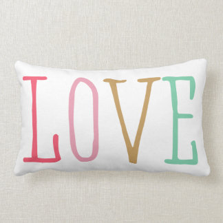 Colourful Love Pillow