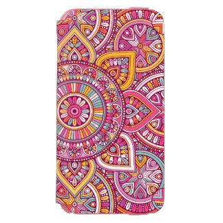 Colourful Mandala Incipio Watson™ iPhone 6 Wallet Case