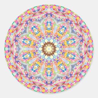 Colourful Mandala Sticker