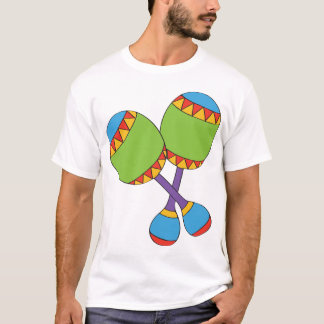 Colourful Maracas Mens T-Shirt