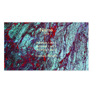 Colourful Marble 1 Stone Texture Pack Of Standard Business Cards