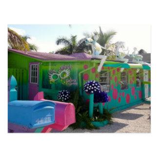 Colourful Matlacha Pine Island Florida Postcard