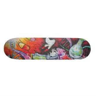 Colourful Medical Theme Graffiti 18.1 Cm Old School Skateboard Deck