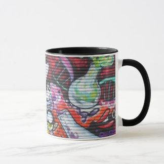 Colourful Medical Theme Graffiti Mug