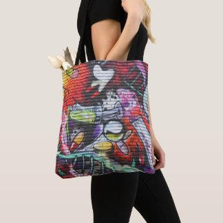 Colourful Medical Theme Graffiti Tote Bag