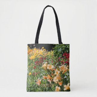 Colourful Mid-Summer Garden Bouquets! Tote Bag