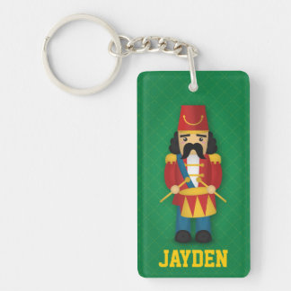 Colourful Military Drummer Soldier for Kids Single-Sided Rectangular Acrylic Key Ring
