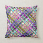 Colourful Mosaic Glass Art Pillows