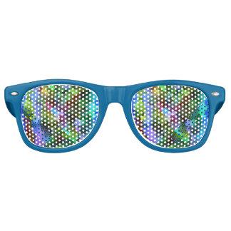 Colourful Mosaic Retro Sunglasses