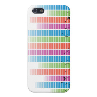 Colourful Music Beats In Nature iPhone 5 Cases
