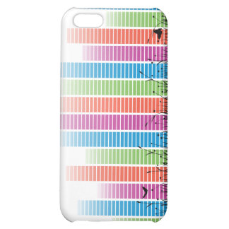 Colourful Music Beats In Nature Cover For iPhone 5C