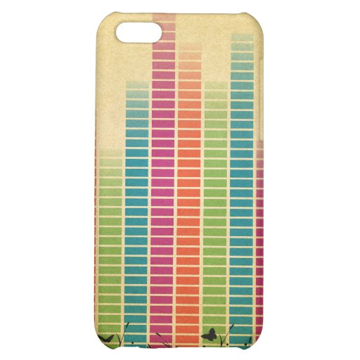 Colourful Music Beats In Nature iPhone 5C Case