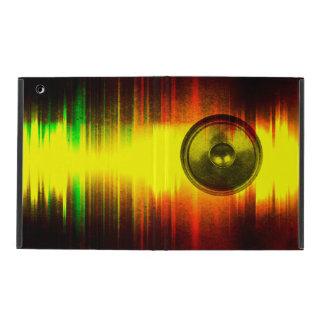 Colourful music speaker ipad case