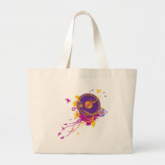 Colourful Music Tote Bag