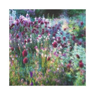 Colourful Naturalistic Garden Canvas Prints