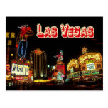 Colourful Neon Signs, Las Vegas, Nevada Post Card