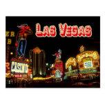 Colourful Neon Signs, Las Vegas, Nevada Postcard