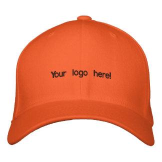 Colourful orange cap